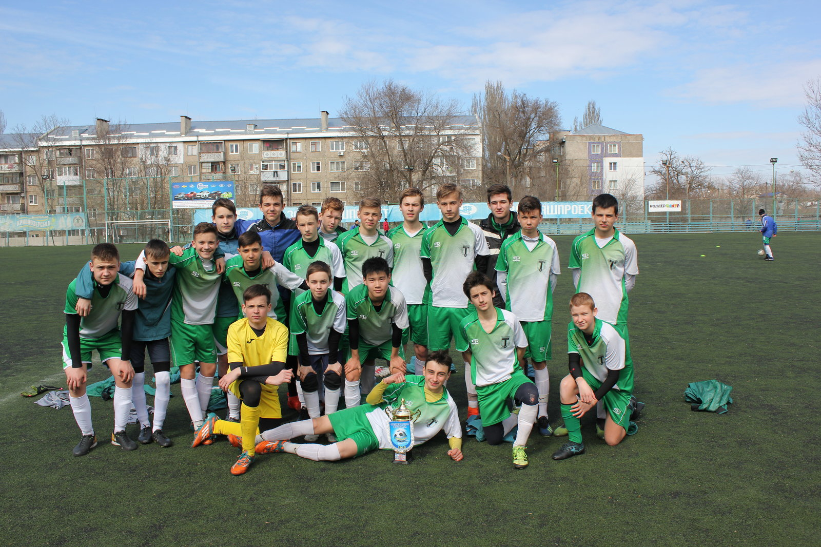 «Торпедо» (U-15) — победитель зимнего малого кубка города Николаева.